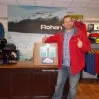 Worcester News: DONATING: Worcester Rohan manager Nigel Mee