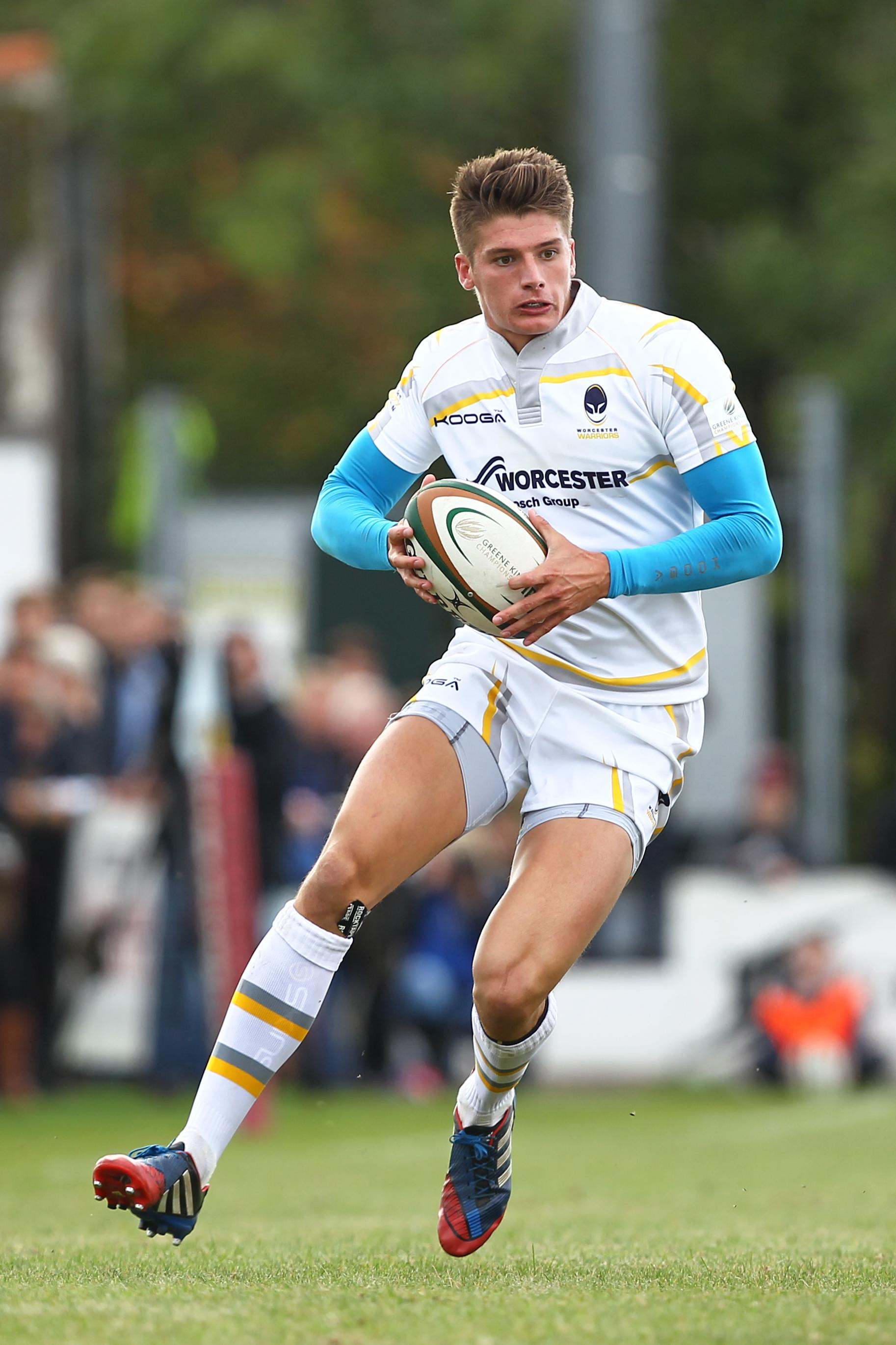CAPTAIN'S PRAISE: Ben Howard starred for Warriors in their thumping league win against Cornish Pirates at Sixways.