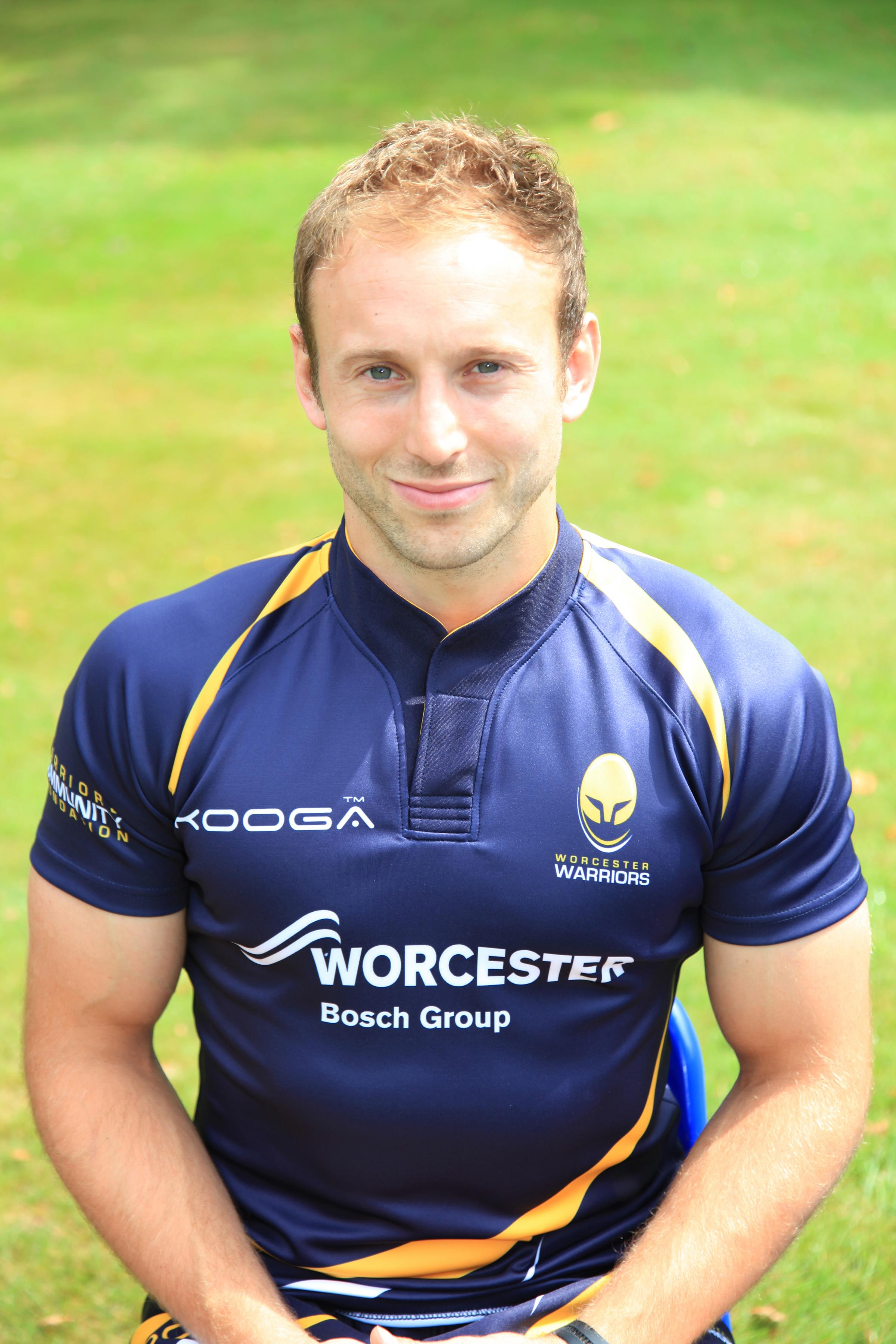 IN THE MIX: England hopeful Chris Pennell.