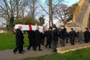 4714758107 18.11.14 Pershore - Funeral of Ted Annis at Pershore Funeral.  *NO PICTURE CREDIT* (13063739)