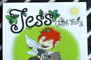 DEBUT BOOK: Jess the Goth Fairy is a self-published, children's story. Picture by John Anyon.  4714761201.