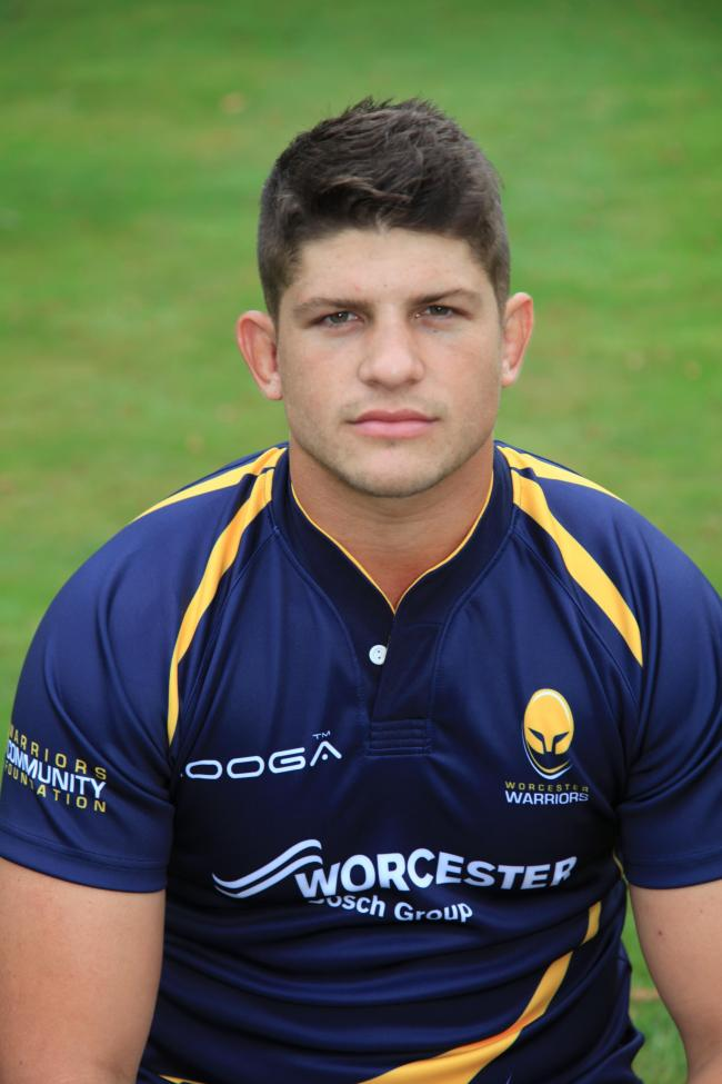 MIKE WILLIAMS: The way he's played over the last two years for the Warriors has been a huge credit to the coaches at Worcester.