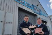 OPENING: Michael Jacob and Dave Grub of D&M Meats at their new Lower Wick store