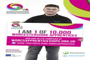 Take a selfie for National Apprenticeship Week