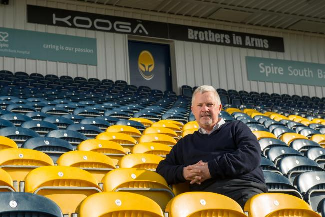 SUPPORT: Worcester Warriors chief executive Jim O'Toole.