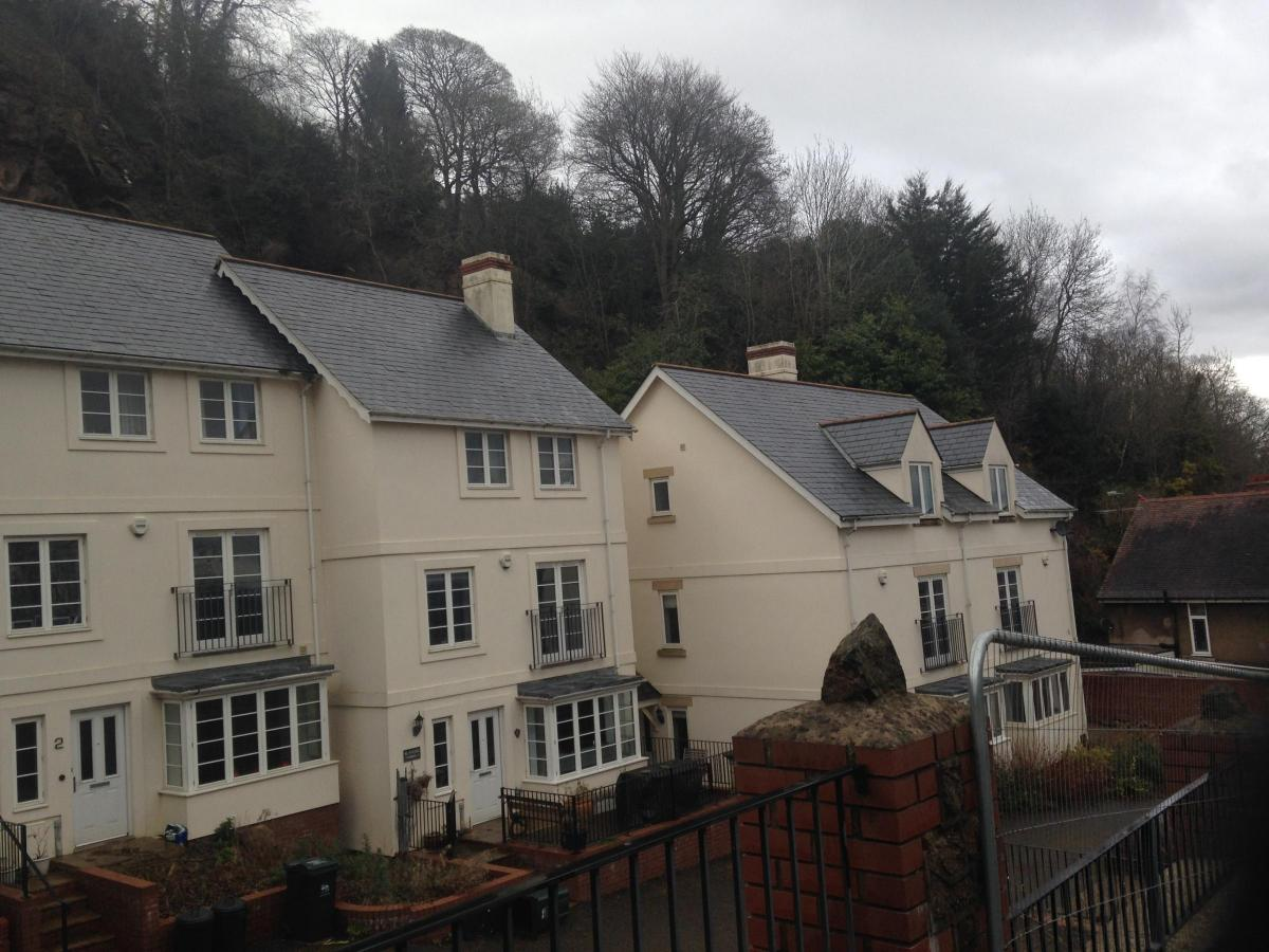 homes on malvern hills evacuated after being hit by rock fall