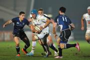 ON THE CHARGE: Worcester's Richard De Carpentier in action at Sixways. Picture: NICK TOOGOOD. 1115839701