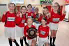 SUCCESS: Perdiswell Primary School's girls' team who took part in the ESFA county finals.