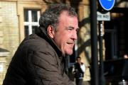 "Jeremy Clarkson arrives at his home in west London, on a bicycle, as Clarkson's BBC career is over after an internal investigation found he launched an ""unprovoked physical and verbal attack"" which left one of the colleagues in hospital. PRESS A"