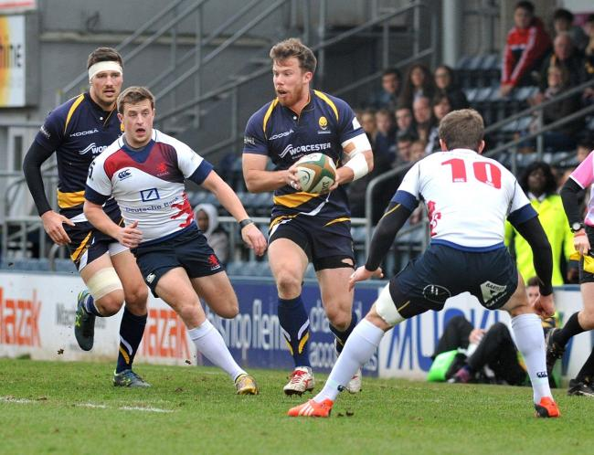 SAM SMITH: Scored a try for Warriors against Yorkshire Carnegie and also set one up.