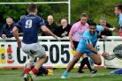 TRY DOUBLE: Cooper Vuna dotted down twice for Worcester Warriors. Picture: CHRIS DAVIES
