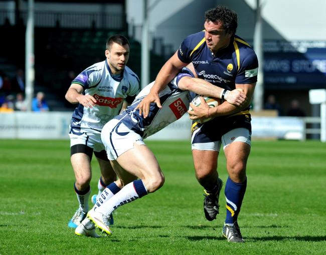 AGUSTIN CREEVY: Was part of an impressive Warriors front row against London Scottish.