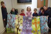 Fort Royal Primary students create art for festival