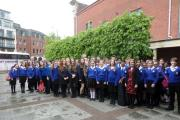 Blessed Edward students take part in Good Shepherd Mass in Worcester