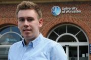 ROLE: University of Worcester graduate Nathan Rollins has bagged an internship at Erlestoke Prison
