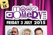 Forget the heatwave - enjoy a night of burning hot comedy instead
