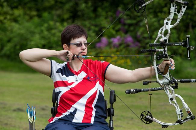Archer Vicky Jenkins will make her Paralympic debut at Rio 2016.