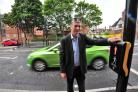 Councillor Simon Cronin on the new crossing on City Walls Road, Worcester. Pic Jonathan Barry 6.7.15  281590370 (31152569)