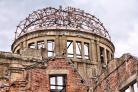 REMINDER: The iconic ruins that form the centrepiece of the Hiroshima Peace Memorial. It was wrong to bomb, says writer