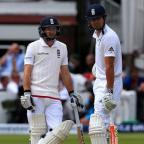 Worcester News: Adam Lyth, left, was the sixth opening partner Alastair Cook, right, has had since Andrew Strauss retired