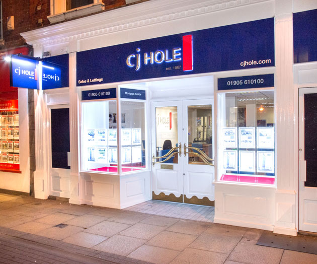 Worcester News: CJ Hole Office Picture