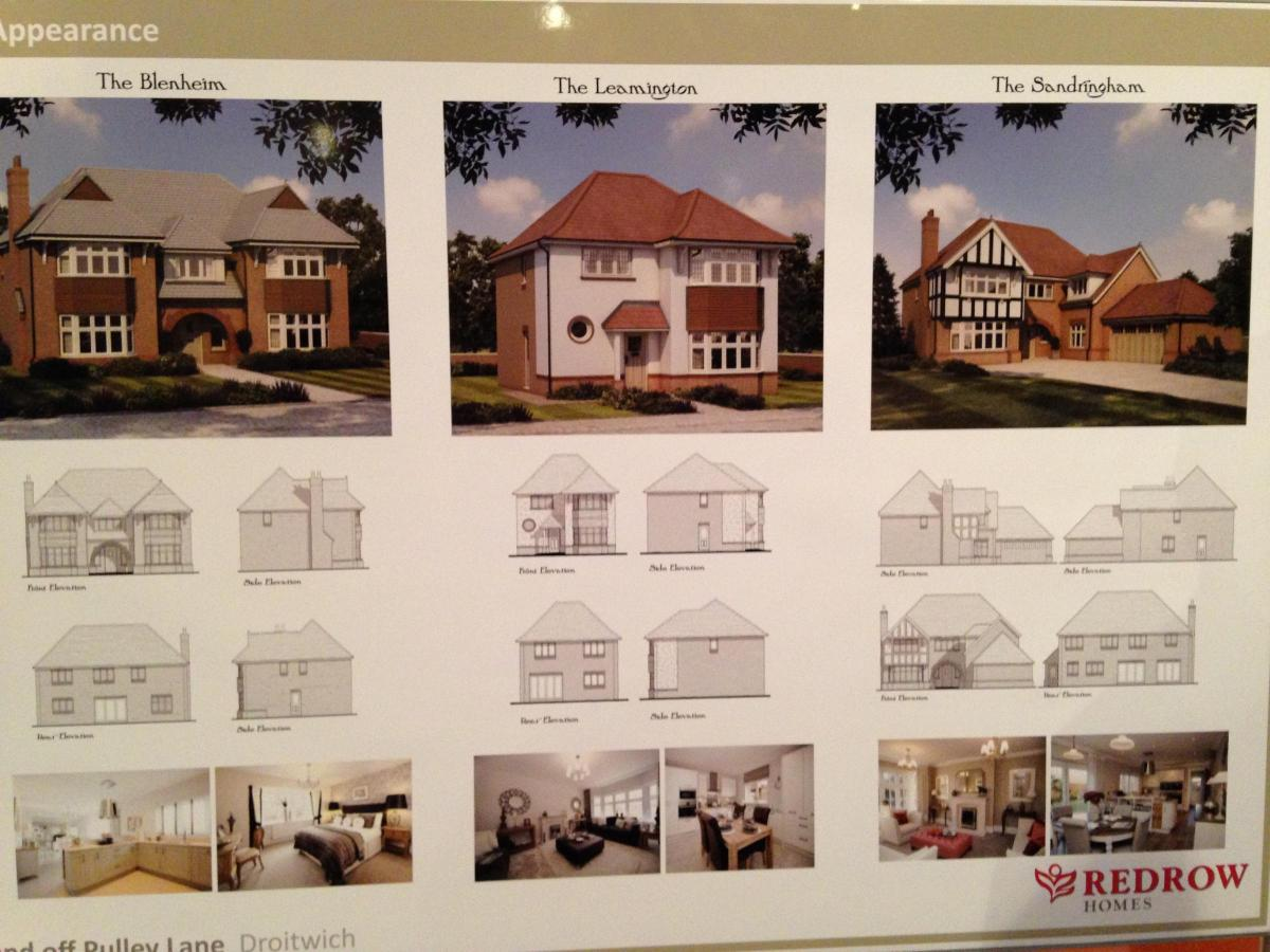 residents flock to view redrow homes u0027 amended plans for