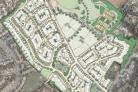 Plans to build 316 homes on Norton Farm land have been approved.