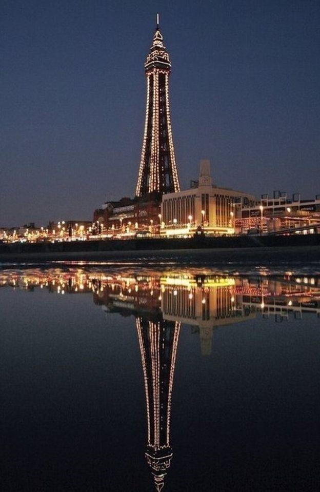 Blackpool Tower, made in Worcester (57883683)