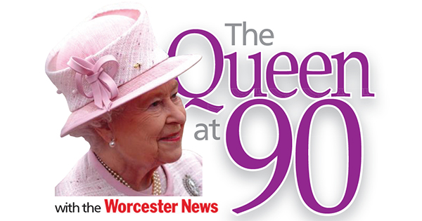 Worcester News: The Queen at 90 with the Worcester News