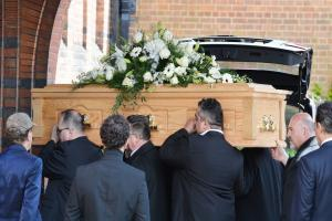 Stars turn out for funeral of 'unforgettable' music producer David Gest