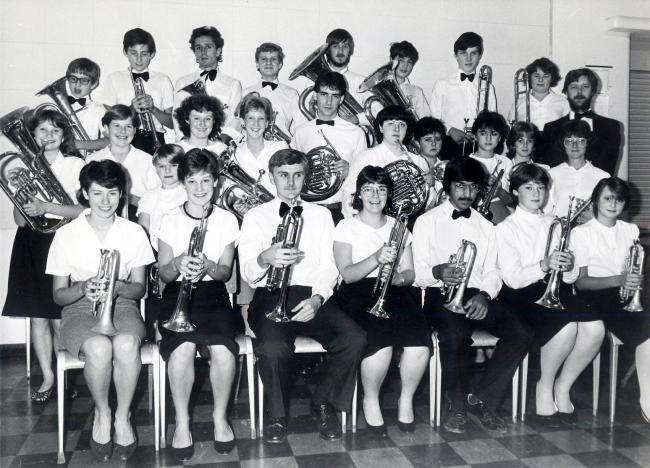 ONLY two and a half years after being founded in 1982, Nunnery Wood Youth Band had become so proficient that the city's Mayor in 1984, Cllr Jeff Carpenter, announced that he was according it the title of Worcester's Town Band. Maybe it should have