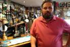 Mark Daniels, landlord of the Brewers Arms, has barred the man from the pub