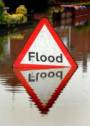 Flooding causes road closures