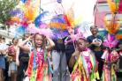 Dancers perform during the Children's Day parade at the Notting Hill Carnival