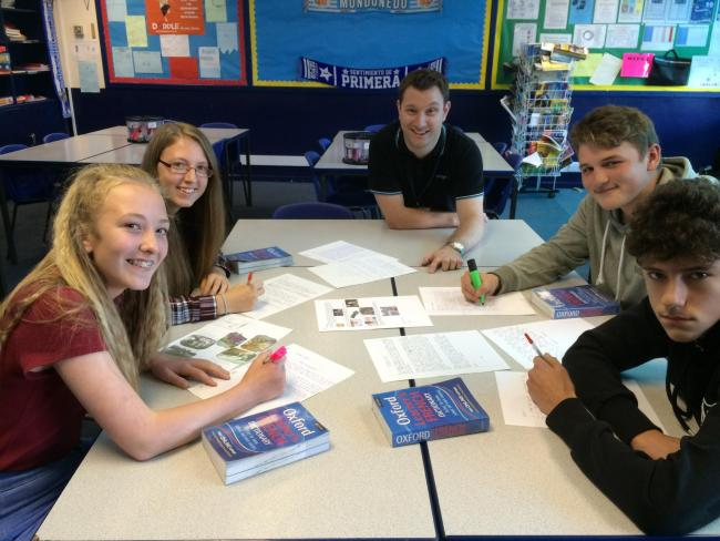French pen-pals help gain recognition for 'exemplar