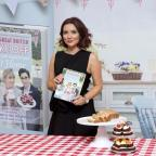 Worcester News: Candice and her new hairdo praise Bake Off as an 'amazing series'