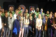 Pupils from The River School visit Worcester Wolves