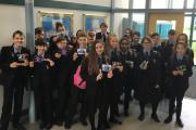 Science students who received rewards for their hard work and achievements