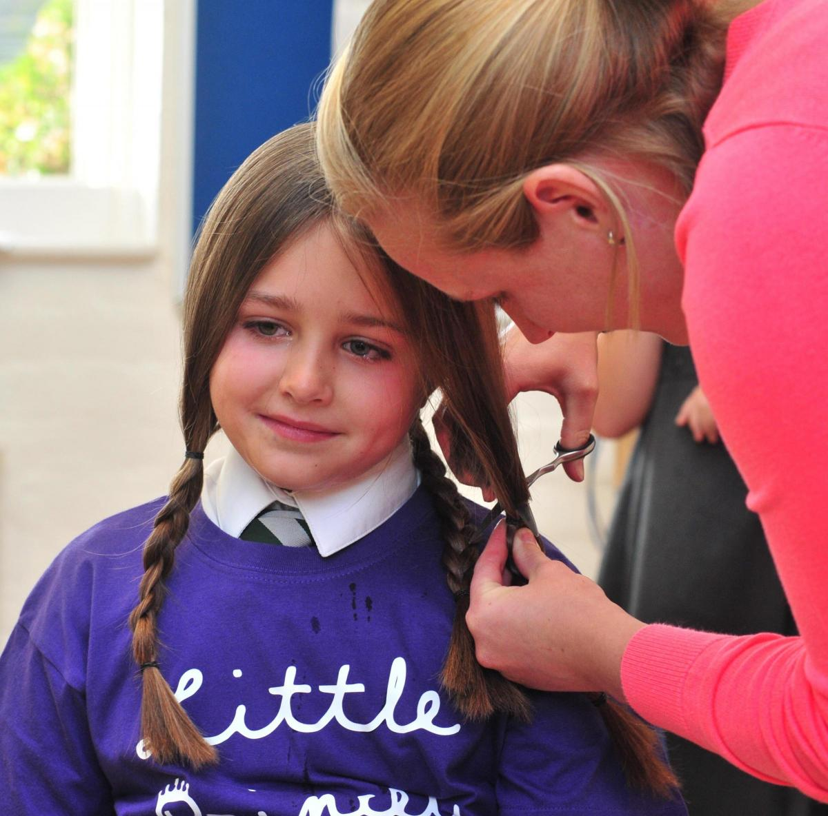 Big Hearted Youngster From Wichenford Has Hair Cut For Little