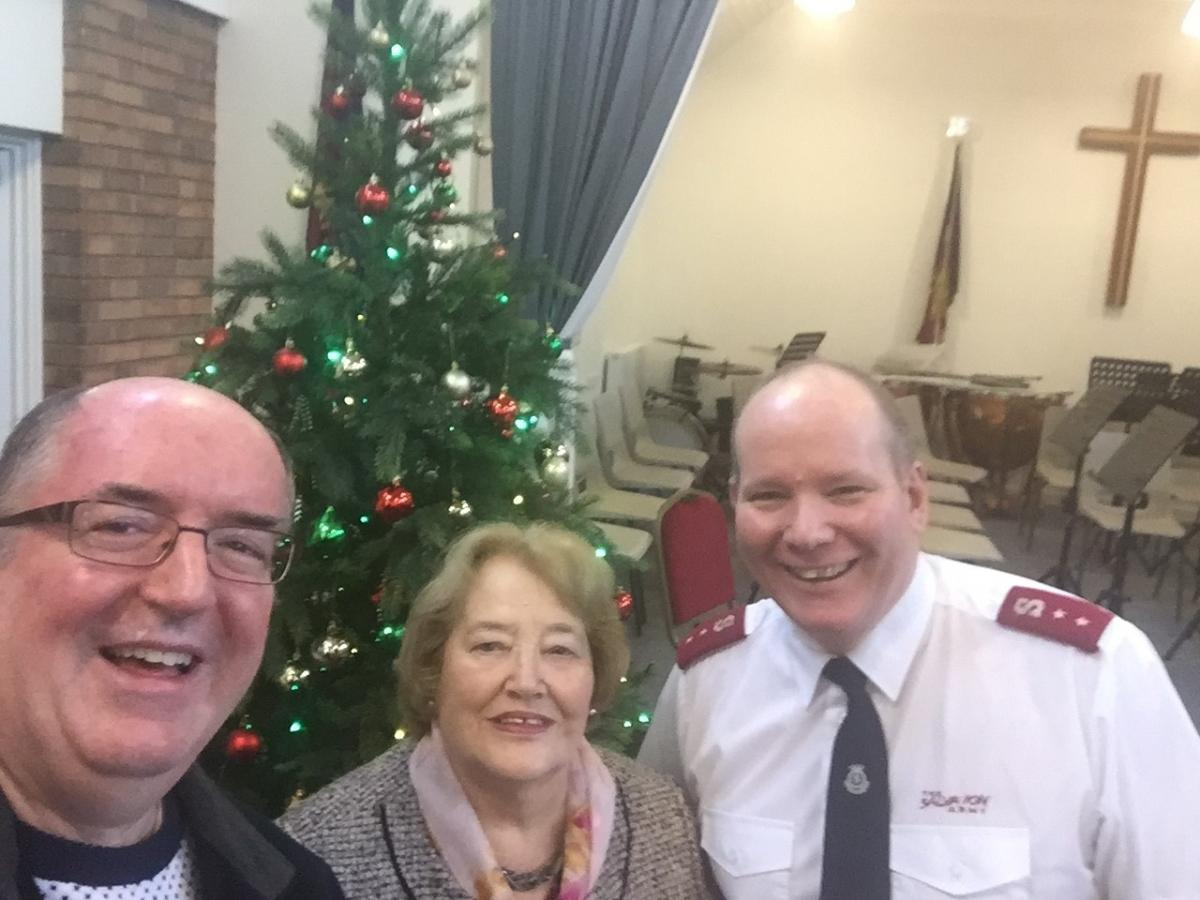 Droitwich charity group donate Christmas gift to Salvation Army ...