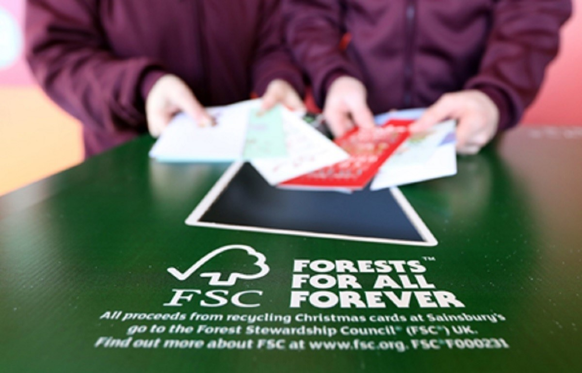 Recycle your Christmas cards at supermarket | Worcester News