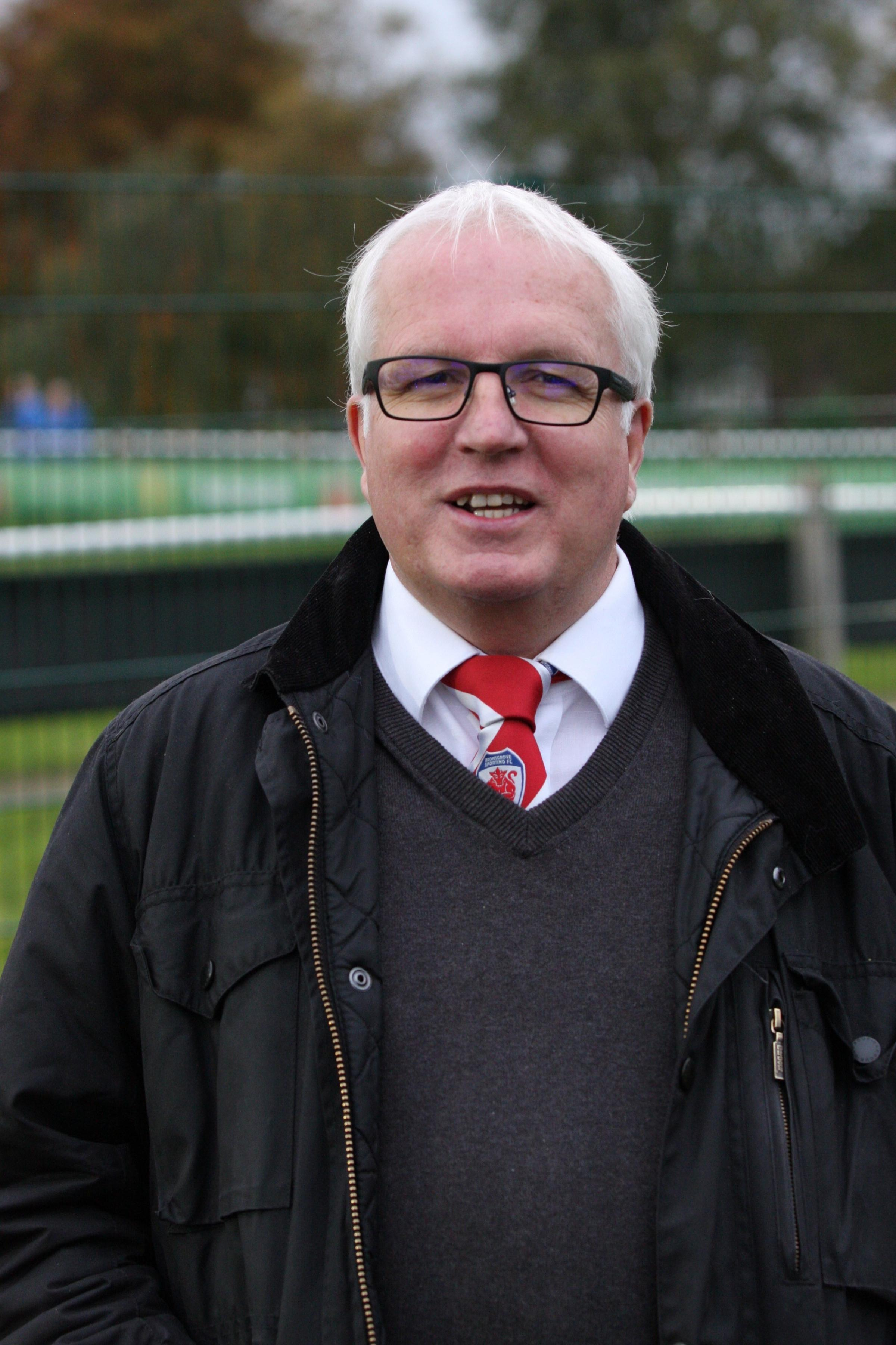 PROFESSIONALISM CALL: Bromsgrove Sporting chairman Mike Burke.