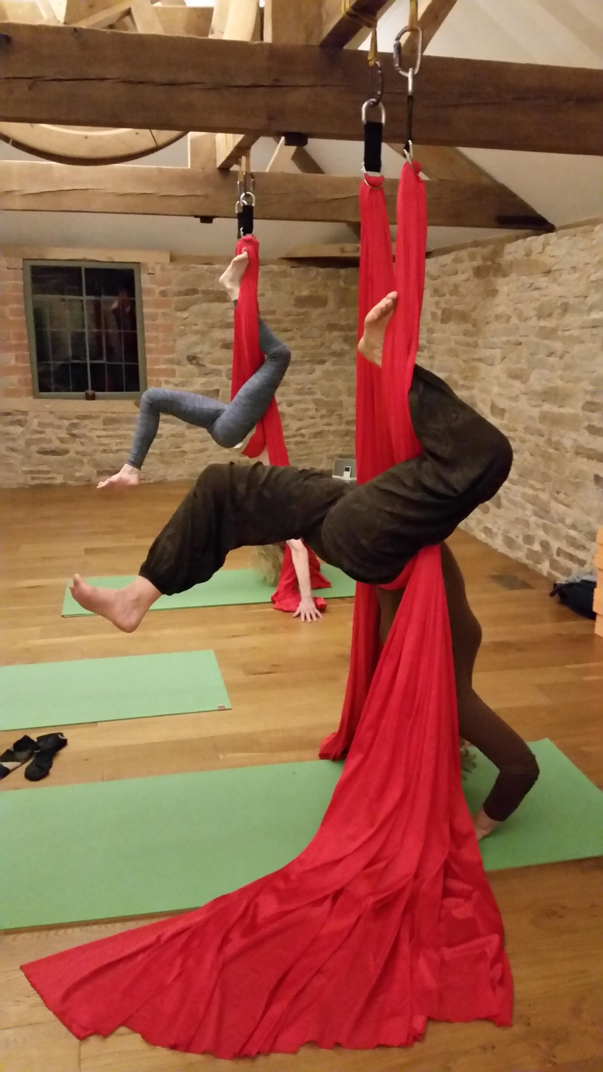 Aerial yoga london classes