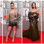 Worcester News: Stars show plenty of skin in glitzy red carpet outfits at the Brit Awards