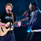 Worcester News: Stormzy joins Ed Sheeran for an impromptu collaboration at the Brit Awards and fans absolutely love it