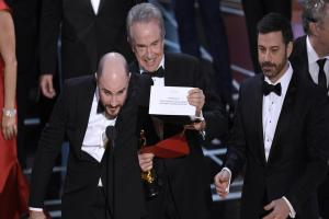And the Oscar goes to… the wrong film! Moonlight wins after La La Land error