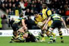 Phil Dowson in action for Warriors. Picture: Robbie Stephenson/JMP.