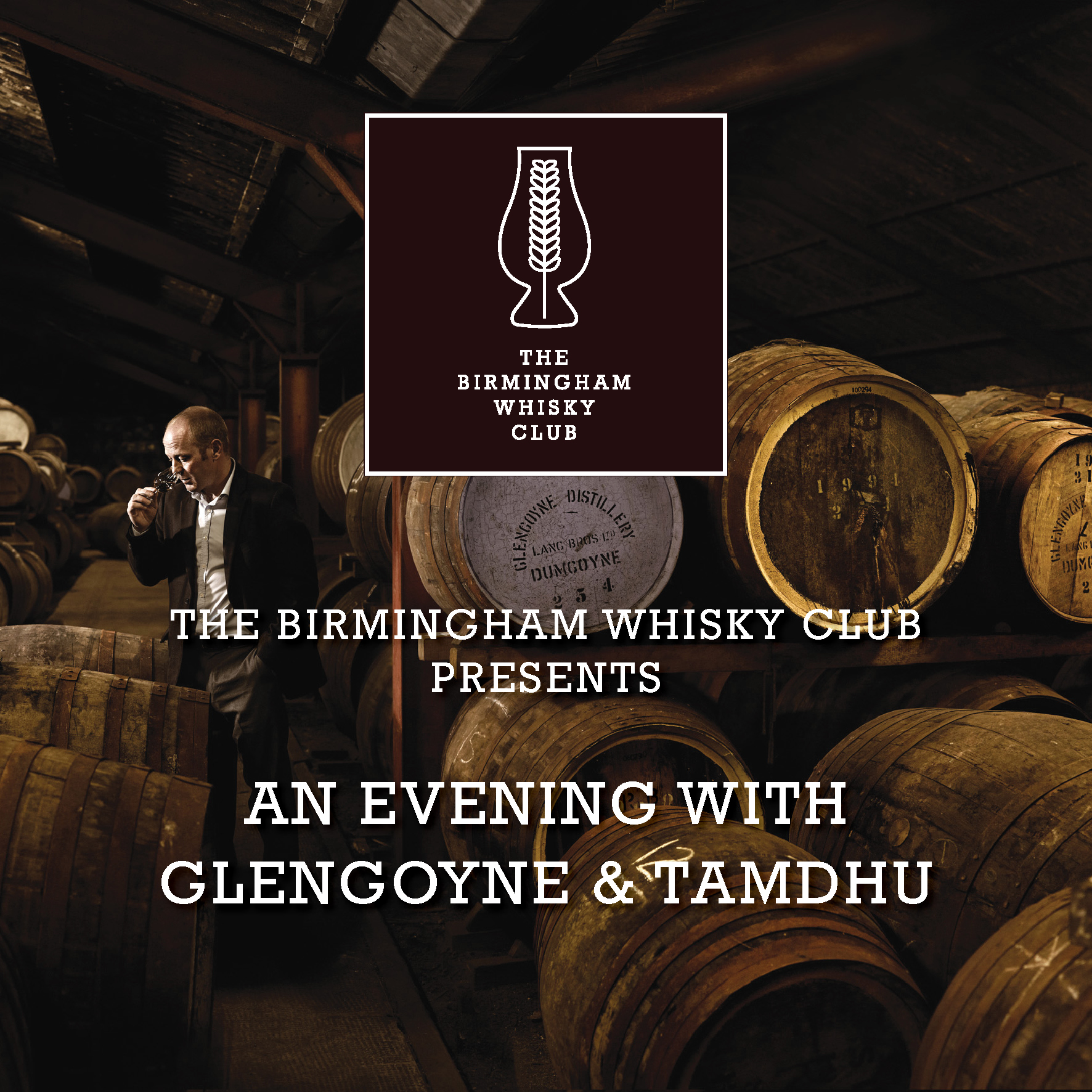 The Birmingham Whisky Club Presents :: An Evening With Glengoyne & Tamdhu