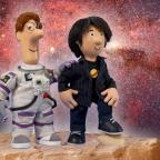 Worcester News: Professor Brian Cox makes space for role in Postman Pat