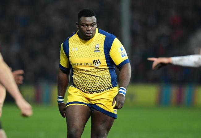 Biyi Alo scored a late try for Worcester Warriors at Sale Sharks. Picture: Joe Meredith/JMP